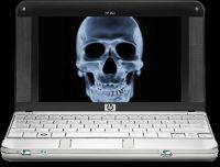 HP 2133 Mininote med dødsskærmen